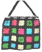Afghan Stitch Bag Crochet Pattern