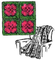 Crocheted Dogwood Afghan Pattern
