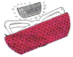Crochet Eyeglass Case Pattern