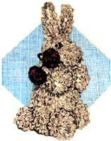 Loop Stitch Bunny Crochet Pattern