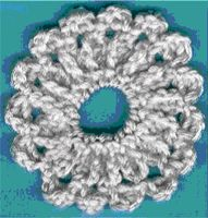 Ponytail Scrunchie Crochet Pattern