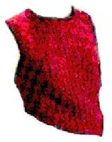 Trimmed Sleeveless Blouse Crochet Pattern