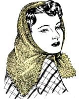 Windy Day Head Scarf Crochet Pattern