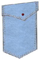 Laundry Bag Pocket Pattern