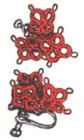 Tatted Earrings Pattern