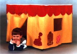 Childrens Portable Playhouse Pattern